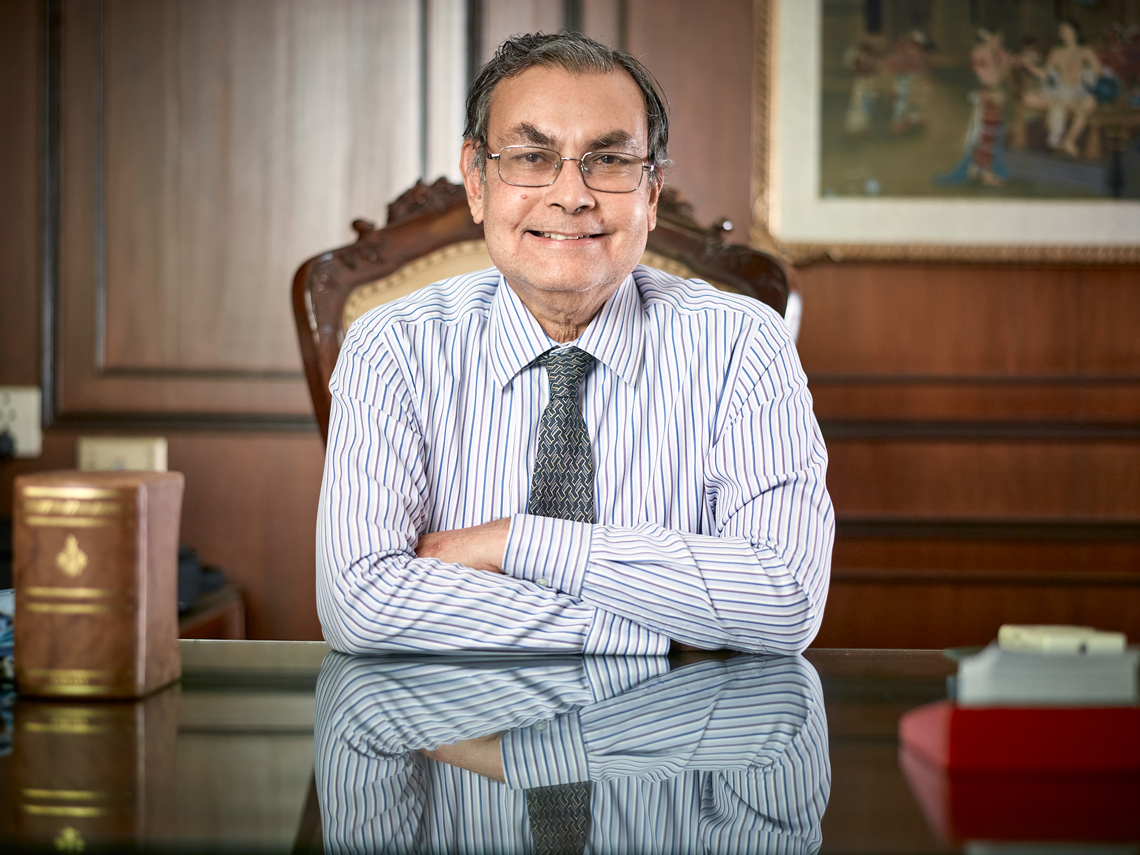 Corporate Portrait Shoot - Kothari Industries Chairman, Arun Kothari