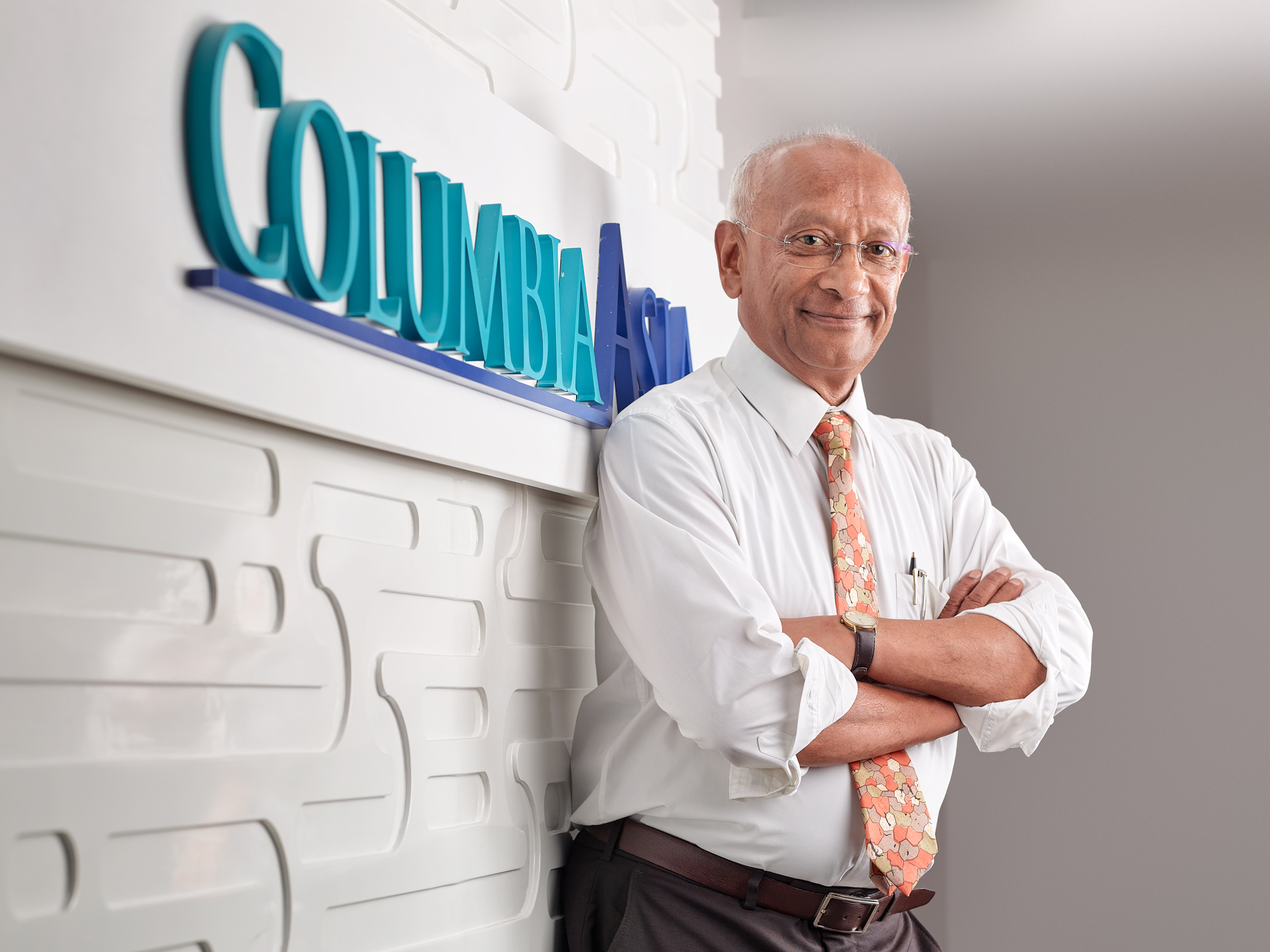 Business Headshot of Dr. Nandakumar Jairam CEO, Columbia Asia Hospitals