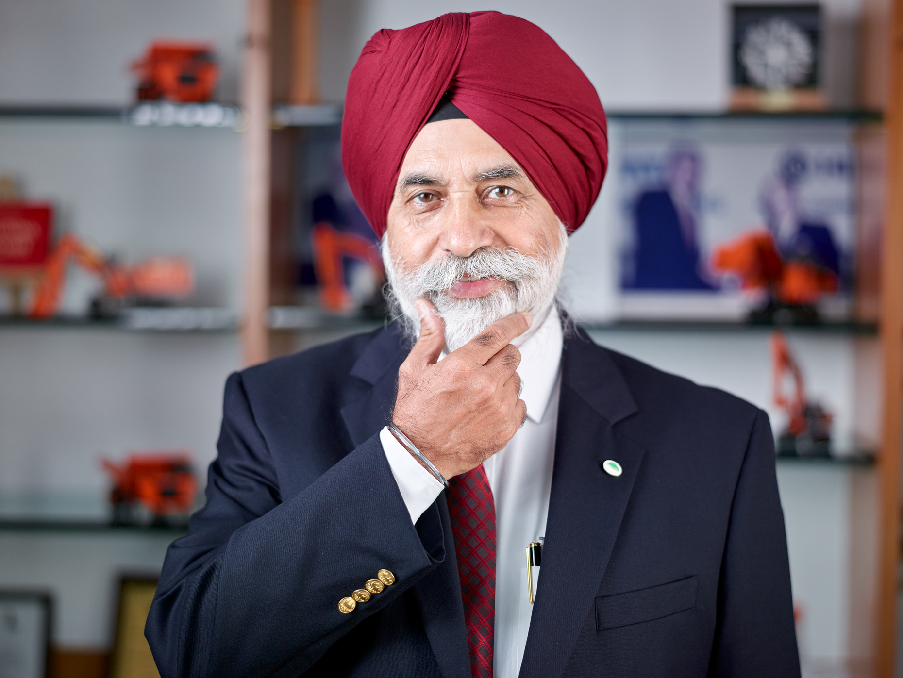 Sandeep Singh, Managing Director of Tata Hitachi Construction Machinery Co. Ltd